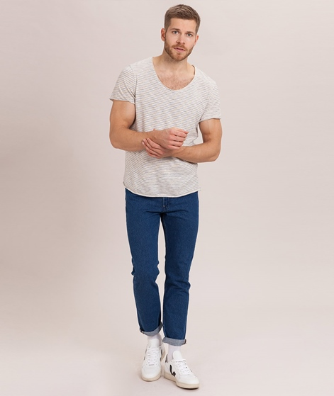 SELECTED HOMME SLHNewmerce T-Shirt egret