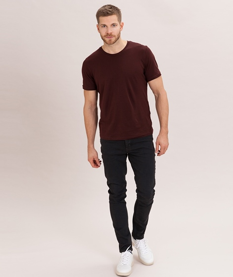 SELECTED HOMME ThePerfect T-Shirt bitter chocolate