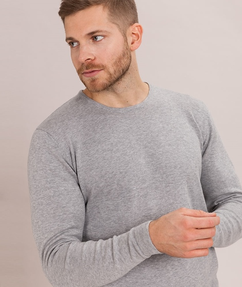 SUIT Chester Pullover light grey mel