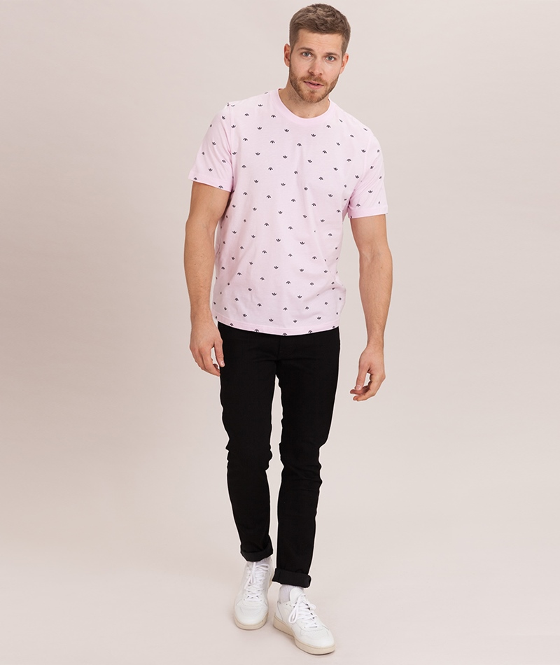 ADIDAS BF Aop T-Shirt clear pink