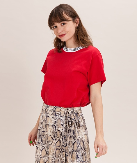 LEVIS Varsity T-Shirt lychee red/taping