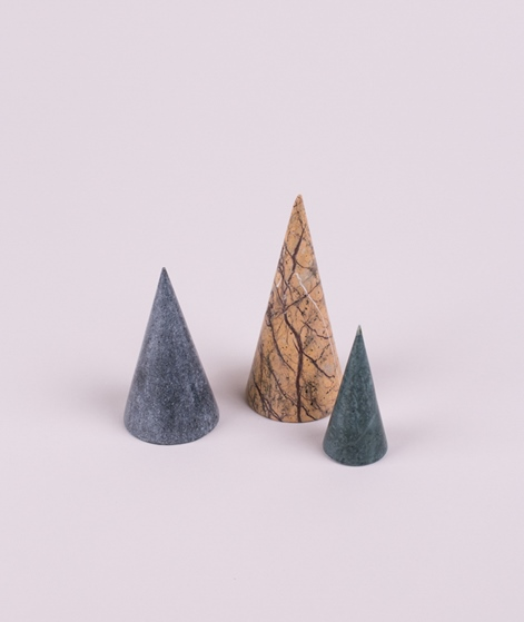 FERM LIVING Marble Trees Set of 3