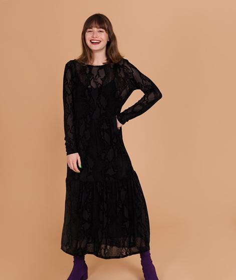 VILA Viburna L/S Kleid black