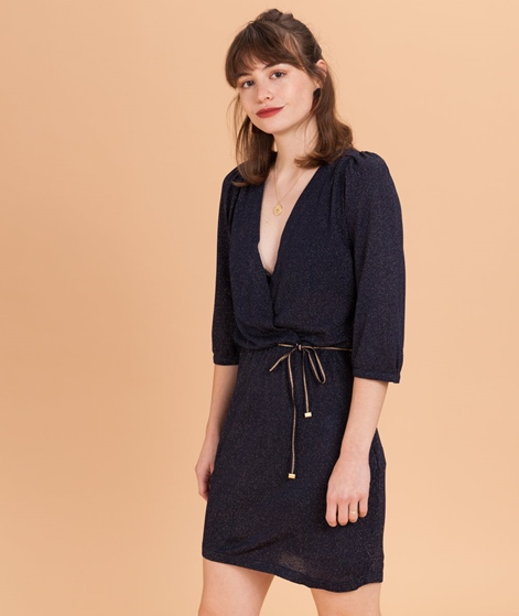 SESSUN Rosie Night Kleid navy gold