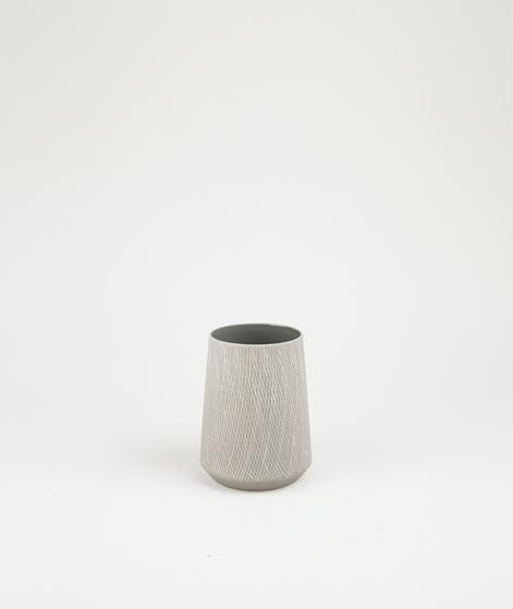 LIV INTERIOR Carol Vase grau 7,5x9,5 cm