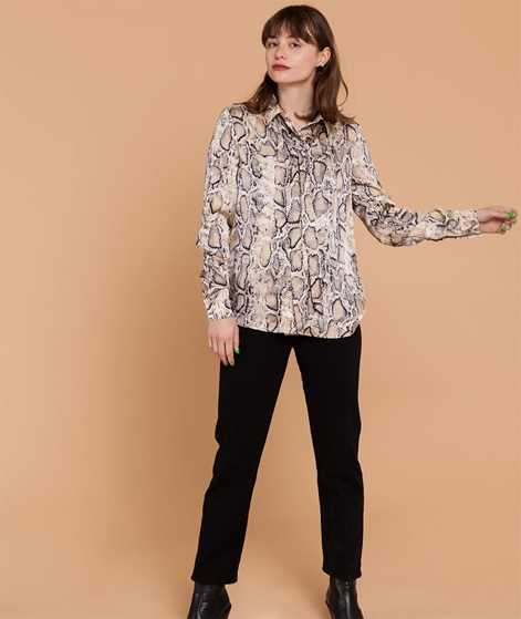 SELECTED FEMME SLFSnake Bluse birch