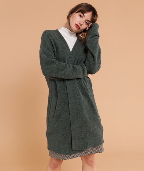 SAMSOE SAMSOE Nor Cardigan duck green