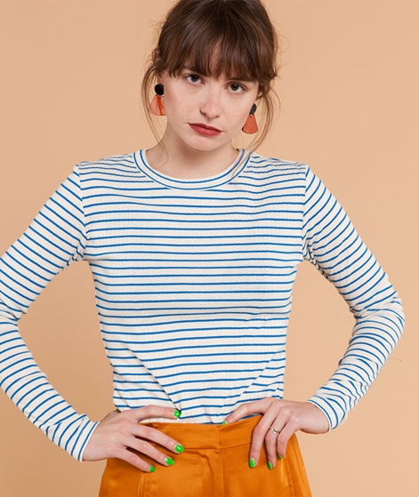 M BY M Sevelia Stripe Longsleeve blue