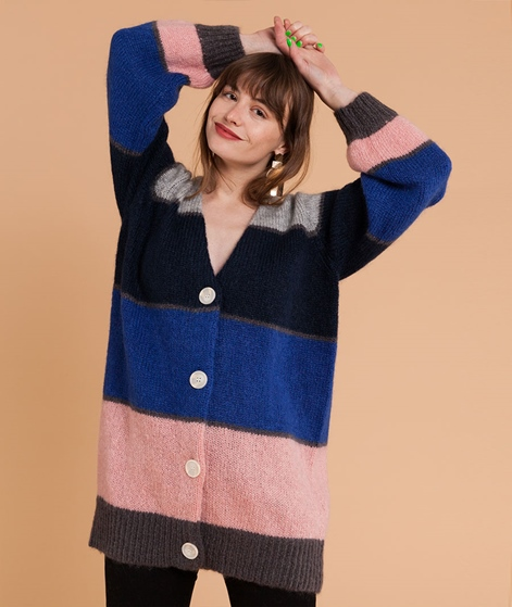JUST FEMALE Silje Cardigan mix stripe
