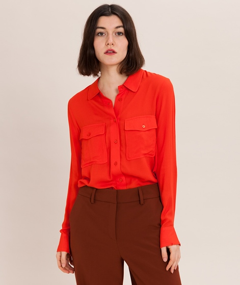 ANOTHER LABEL Revere Bluse red