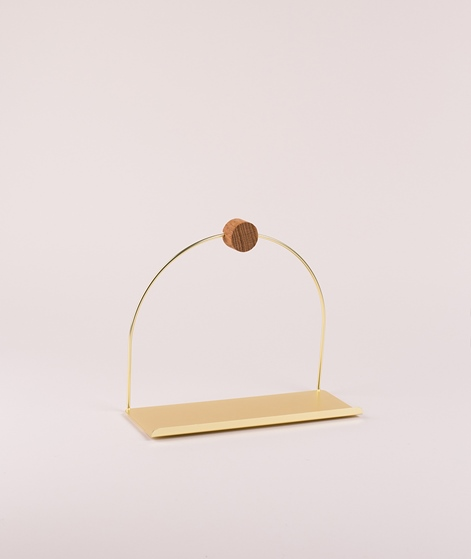 FERM LIVING Bathroom Shelf brass