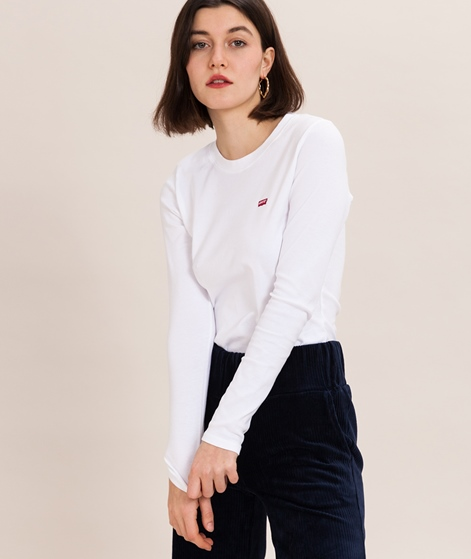 LEVIS Baby Longsleeve white/chest hit