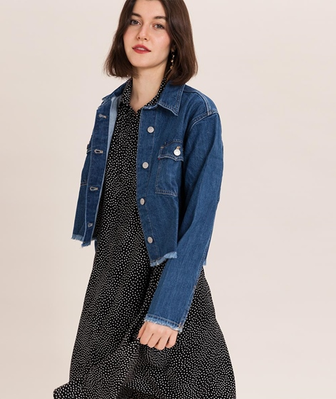 LEVIS Rania Cropped Jacke med authentic