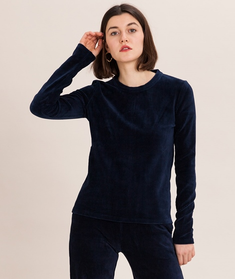 ANOTHER LABEL Ridge Longsleeve dark navy