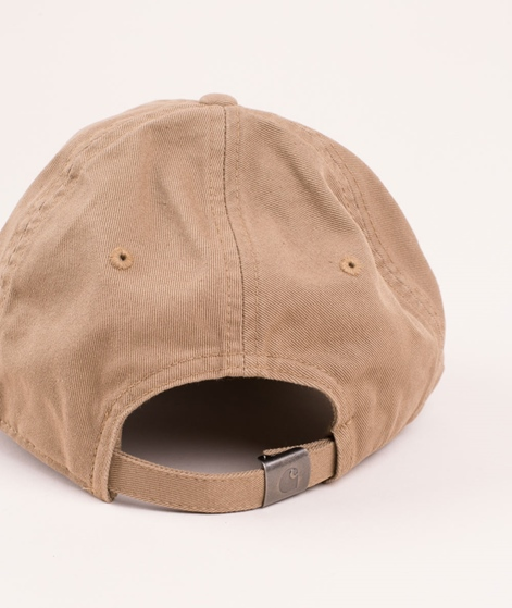 CARHARTT Madison Logo Cap leather/dark n