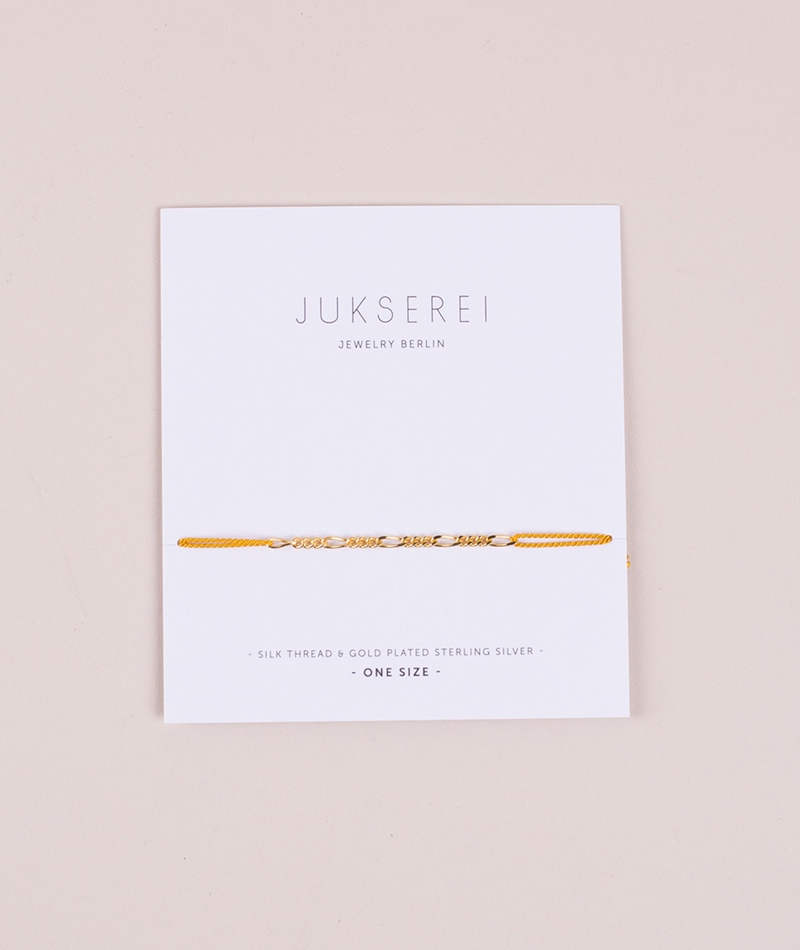 JUKSEREI Good Luck Ave Armband amber