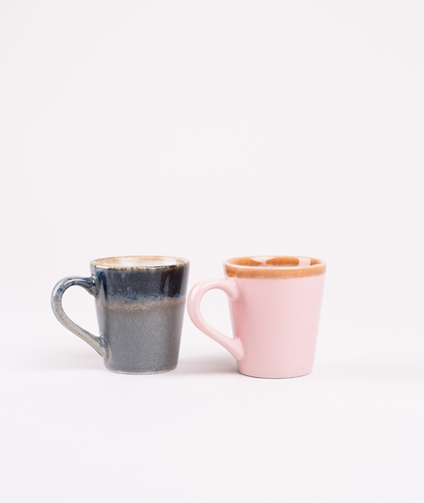 HKLIVING Ceramic 70`s Espresso Mug pink