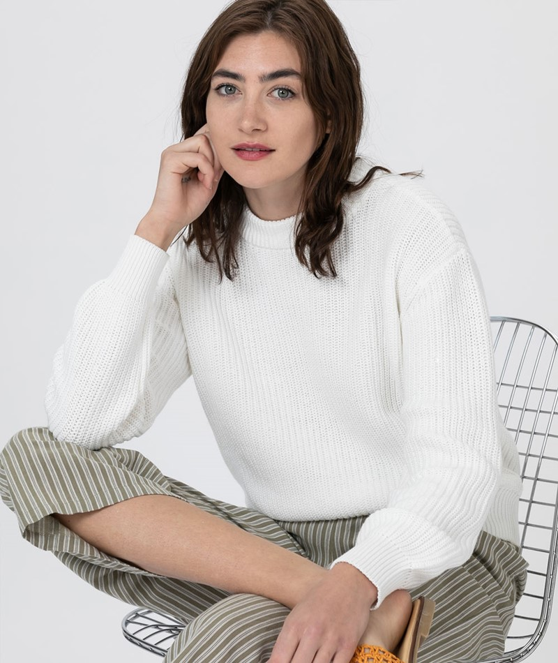MINIMUM Mikala Pullover broken white