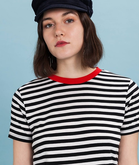 MBYM Oui Contrast T-Shirt black