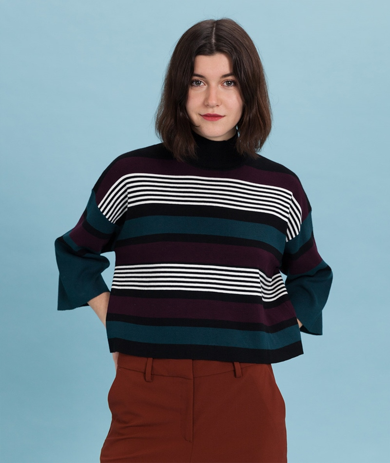 NATIVE YOUTH Beaufort Knit black