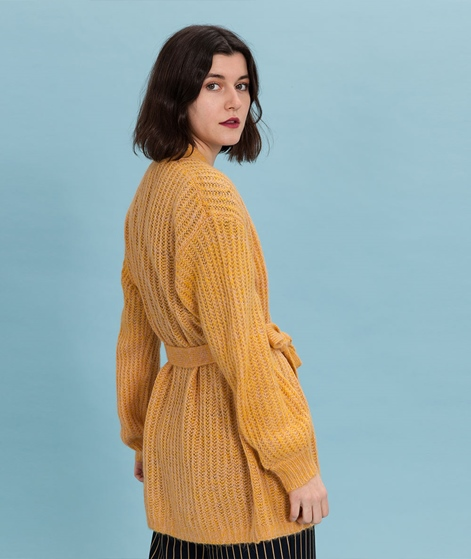ANOTHER LABEL Payenne Cardigan inca gold
