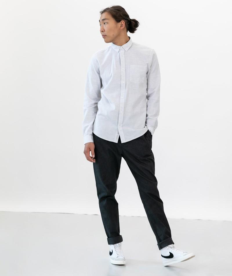 MINIMUM Jay 2.0 Hemd white/metal NICHT