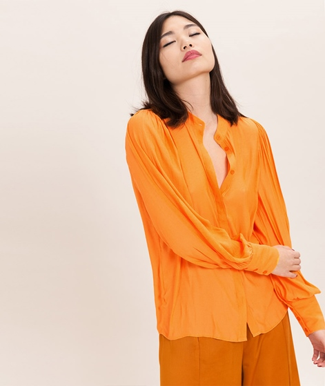 JUST FEMALE Carolyn Bluse orange