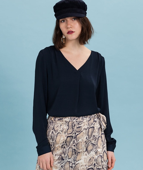 VILA Vimelli L/S New Bluse total eclipse