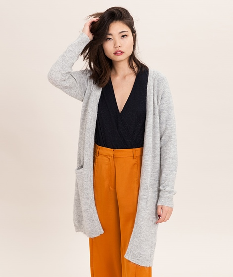 MINIMUM Kerstin Cardigan light grey mela