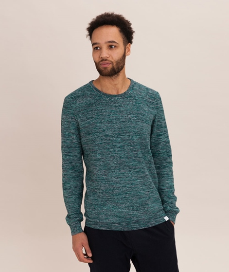 NOWADAYS Multi Color Pullover simply green