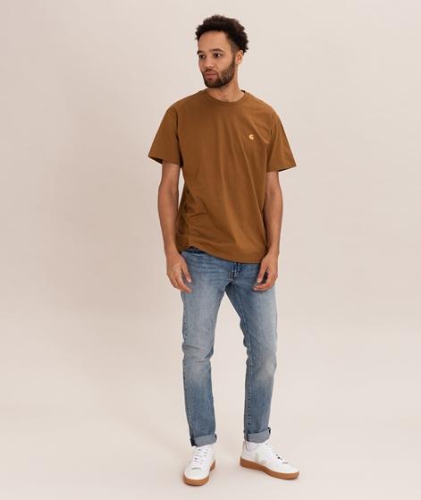 CARHARTT Chase T-Shirt hamilton brown