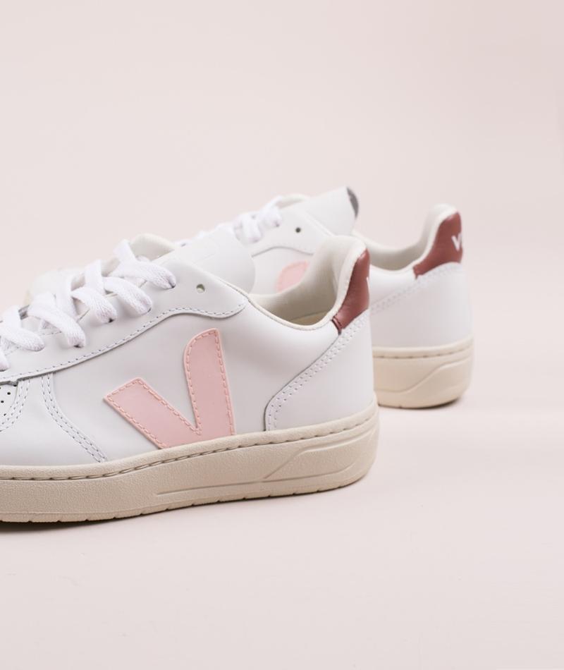 VEJA V-10 Sneaker extra-white petal dri