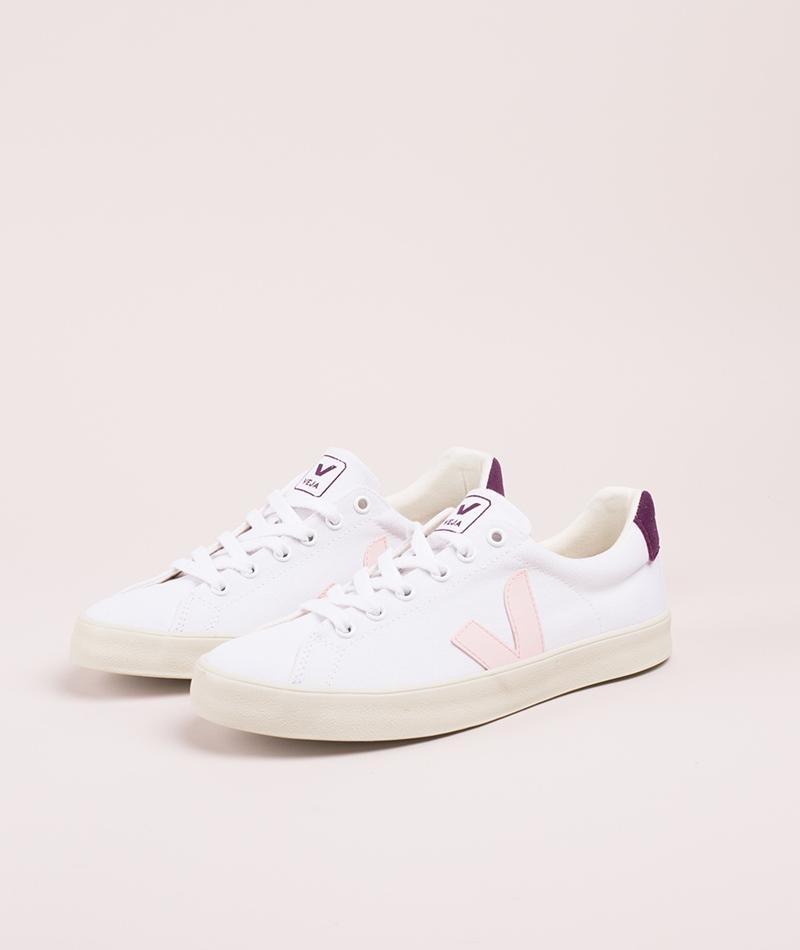 VEJA Esplar SE Canvas Sneaker white berr