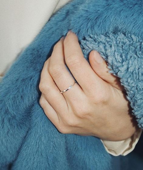 JUKSEREI Ember Ring silber