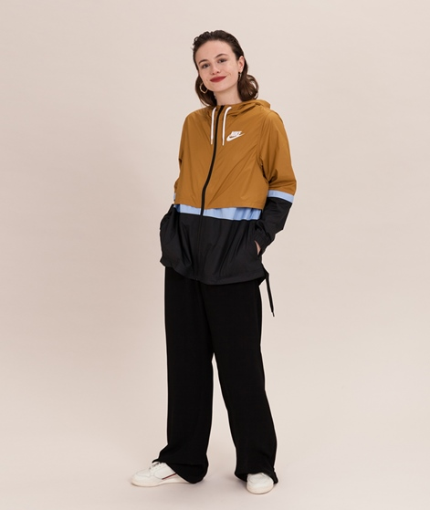 NIKE WNSW Woven Jacke yellow/black/white