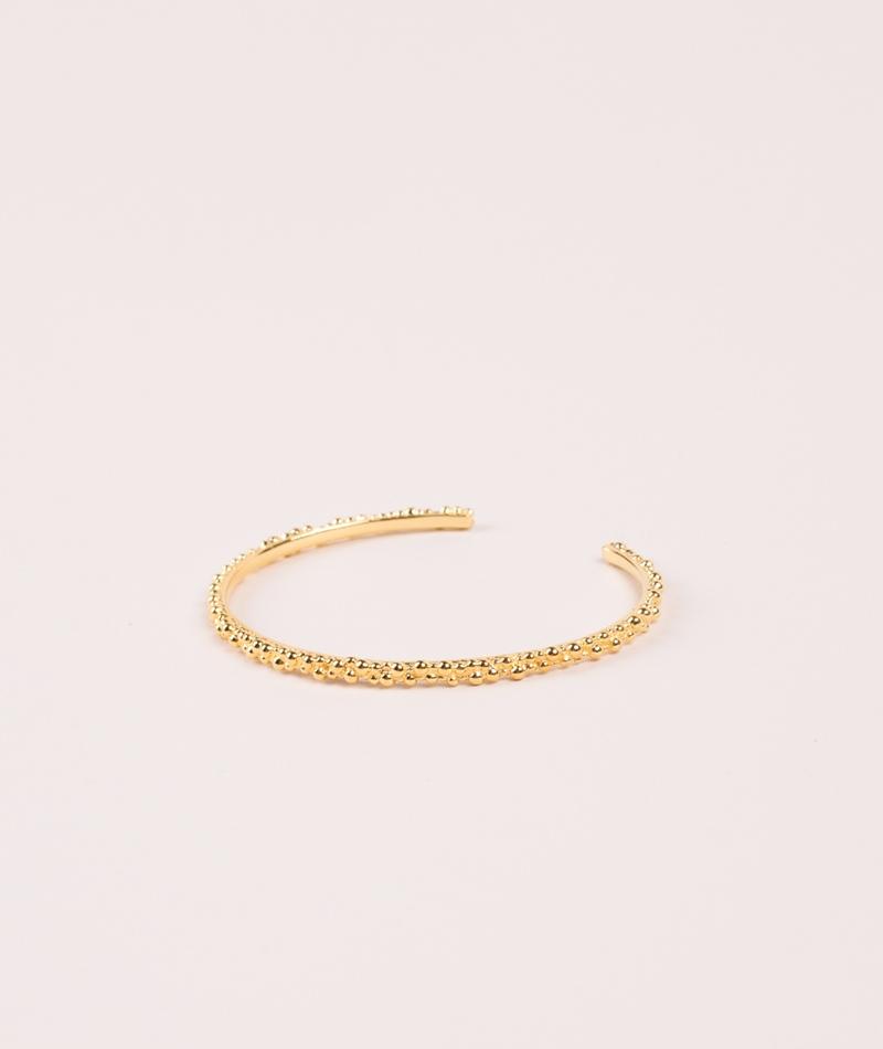 ANNA + NINA Cluster Cuff gold