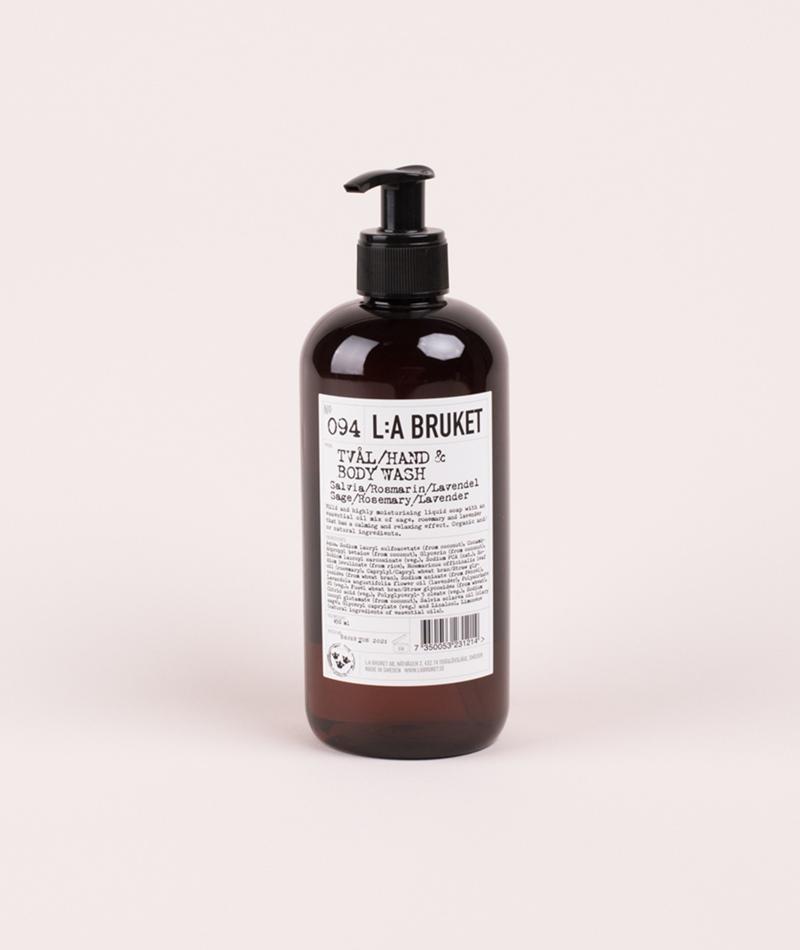 LA BRUKET No. 94 Liquid Soap Rosemary