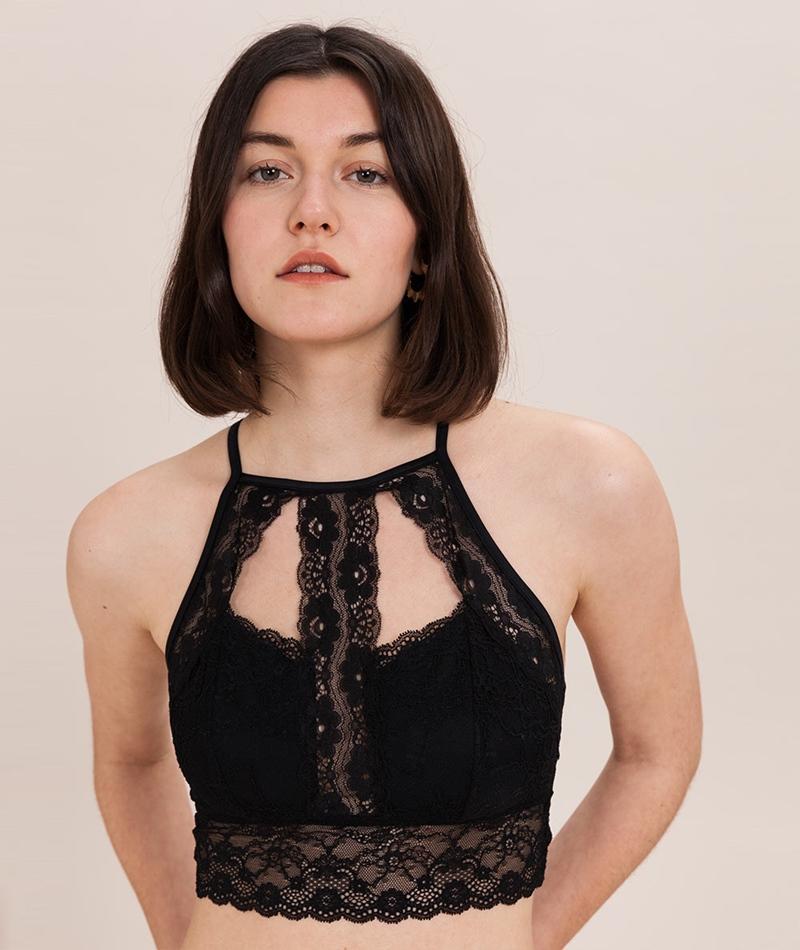 VILA Vilucinda Bralette black