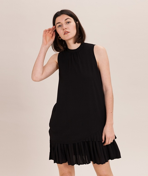 POP COPENHAGEN Pleated Layered Kleid bla