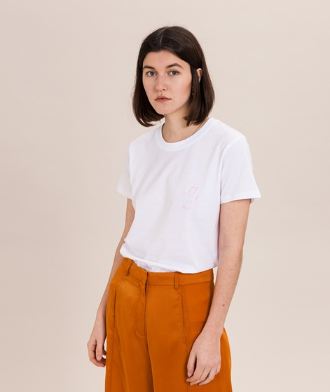 POP COPENHAGEN Music T-Shirt white