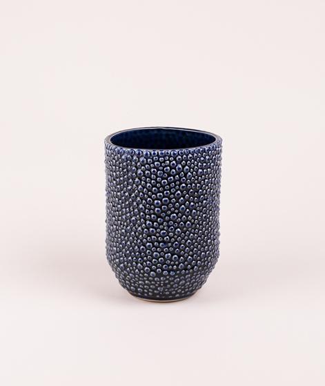 BLOOMINGVILLE Vase Stoneware blue