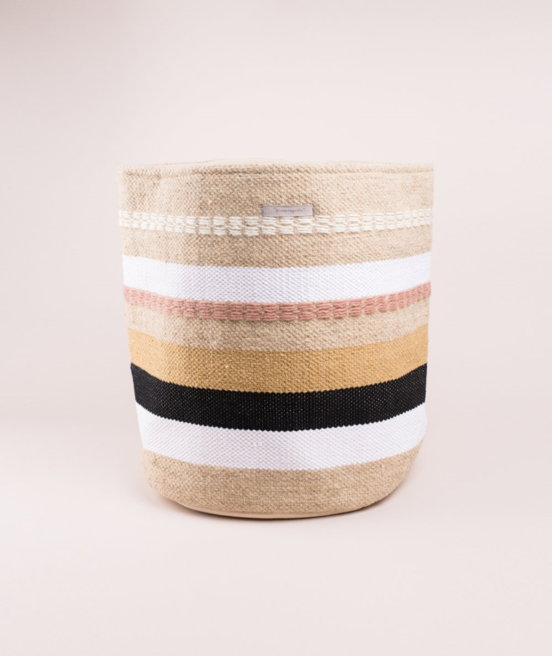BLOOMINGVILLE Basket Wool multi
