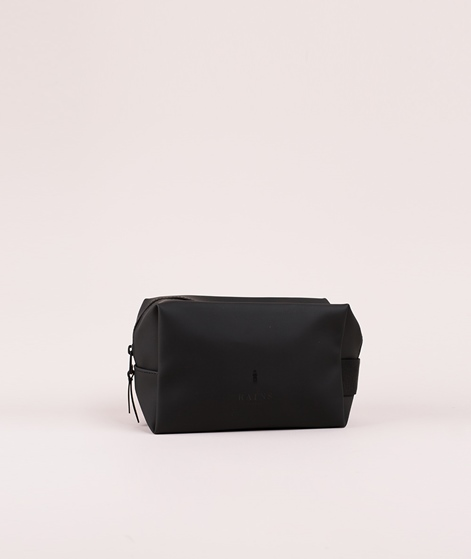 RAINS Wash Bag Kosmetiktasche small schwarz
