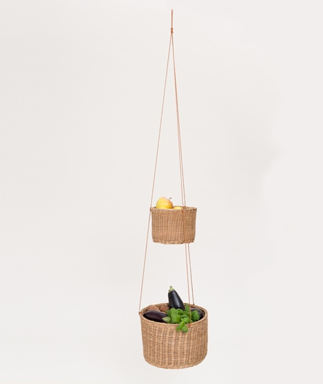 BLOOMINGVILLE Basket Rattan nature