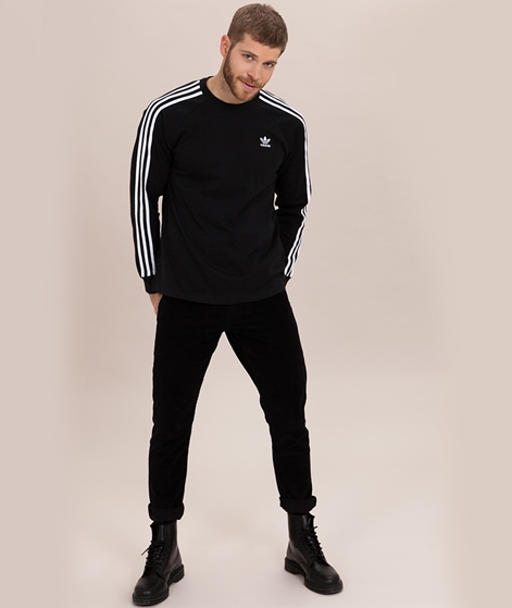 ADIDAS 3 Stripes Longsleeve black