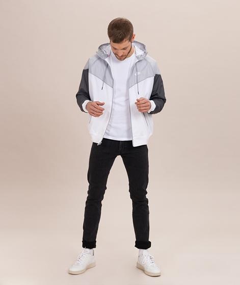 NIKE Sportswear Jacke white/wolf grey/da