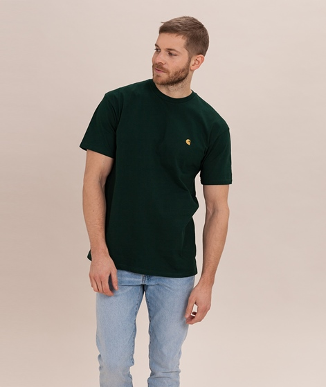 CARHARTT WIP Chase T-Shirt bottlegreen