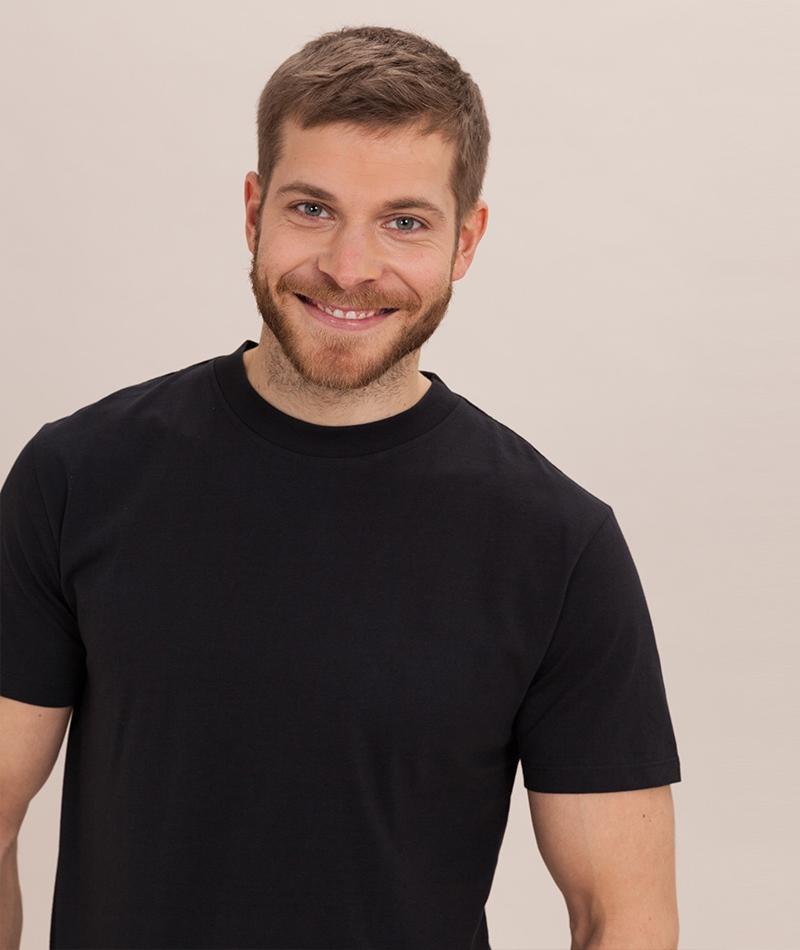 MINIMUM Aarhus US T-Shirt black