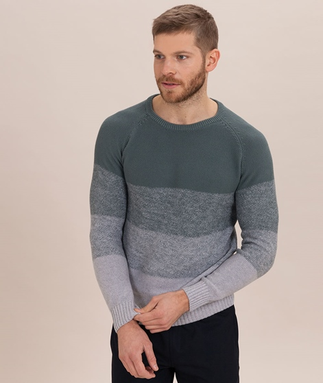 COUDRE BERLIN Gradient Pullover reed/green