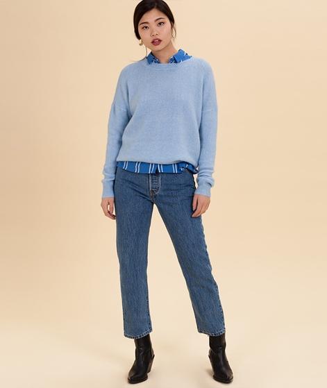 MOSS CPH Femme Mohair O Pullover blue be